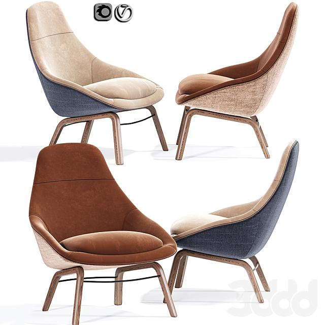 Field Modern Lounge Chair And Armchair 02