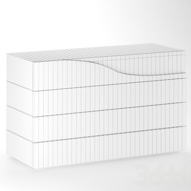 SEGNO | Wide Chest of drawers By Reflex