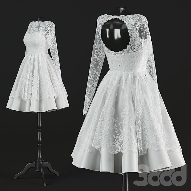 """Короткое свадебное платье """"Сьюзи"""""""