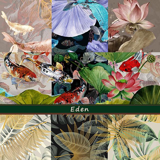 Дизайнерские обои Eden pack2