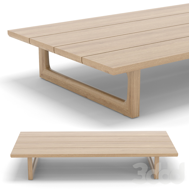 RH Outdoor Navaro coffee table