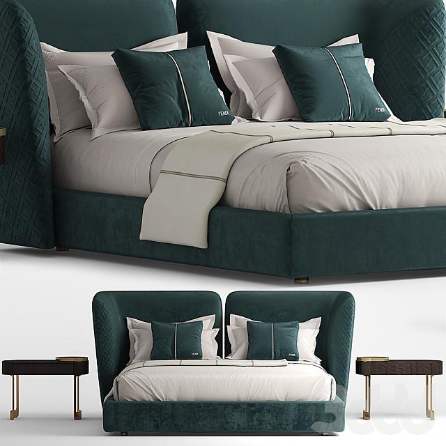 Кровать FENDI CEASAR