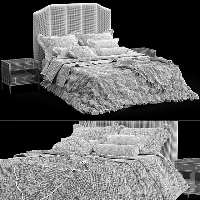 Кровать Sabine Restoration Hardware