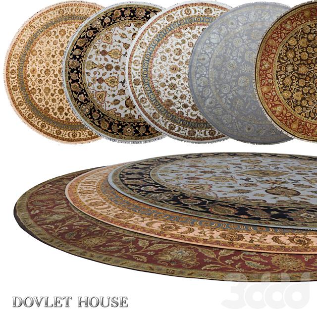 Ковры круглые DOVLET HOUSE 5 штук (part 11)