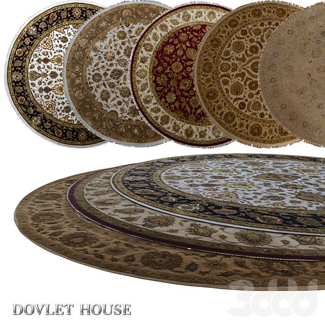 Ковры круглые DOVLET HOUSE 5 штук (part 12)