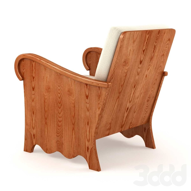 Axel Einar Hjorth Rare Lovo Lounge Chair