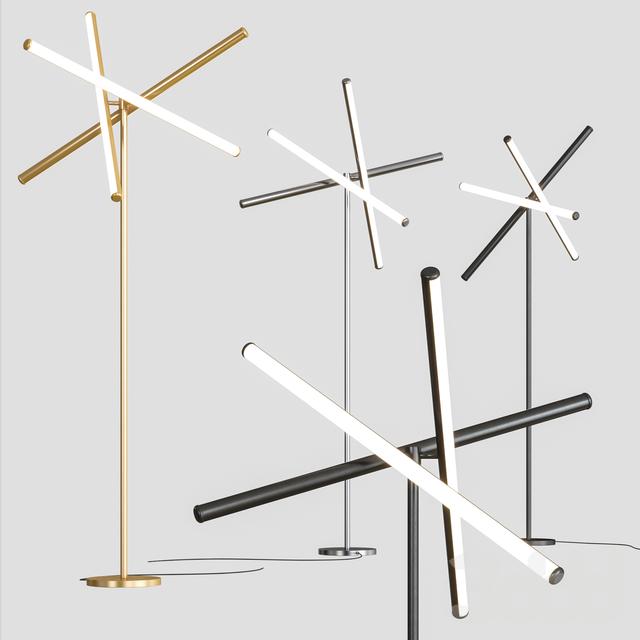 West Elm - Light Rods LED Floor Lamp