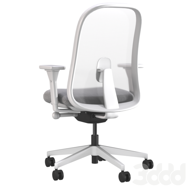 LINO Office Swivel chair with armrests by Herman Miller