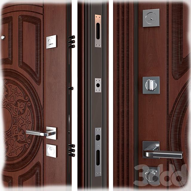 Входная металлическая дверь Baku (Abwehr)