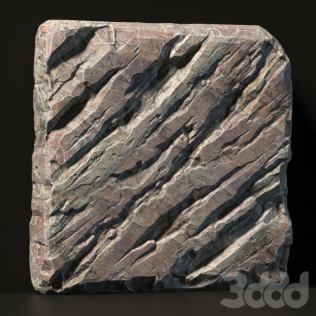 Slab stone rock granite huge / Слэб огромный из гранитного скального камня