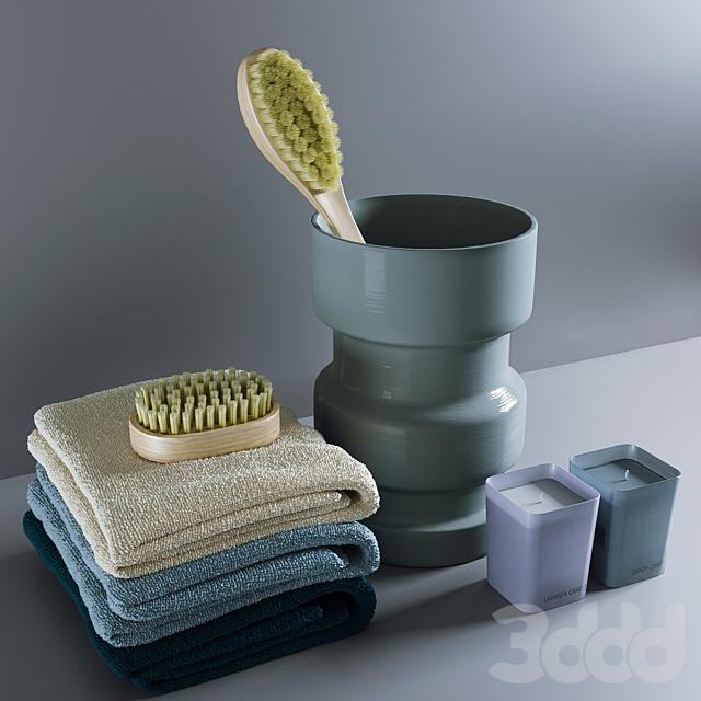 Декоративный набор для ванной # 4