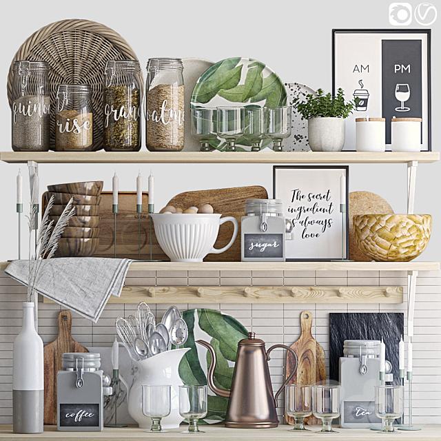 Декоративный набор для кухни 8