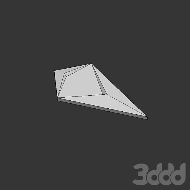 Настенная 3D плитка ASHOME #20