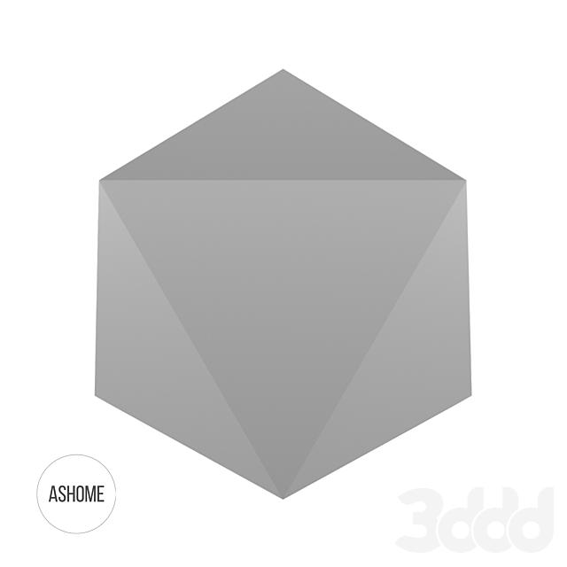 Настенная 3D плитка ASHOME #22