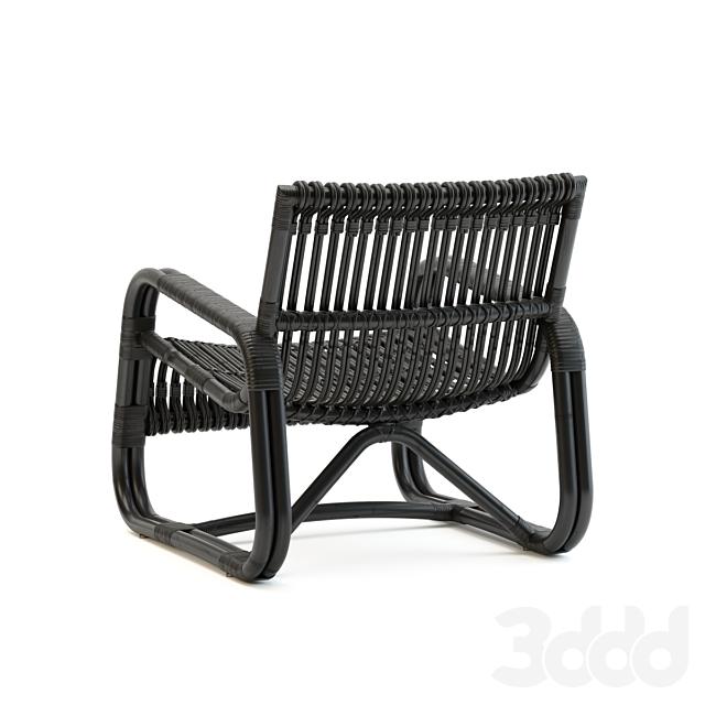 Cane-Line Curve Lounge Armchair