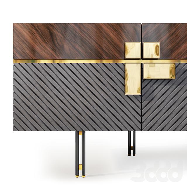 Комод  и тумба прикроватная Harmony. Nightstand, sideboard by Medusa Home