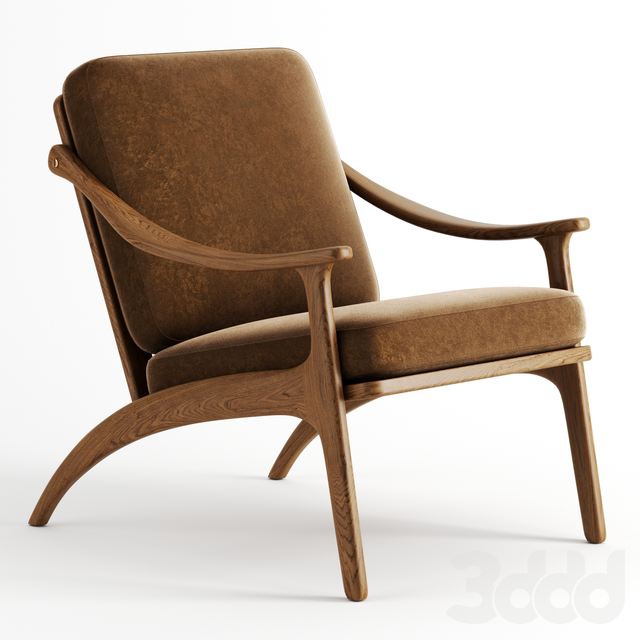 Lean Back Chair by Warm Nordic