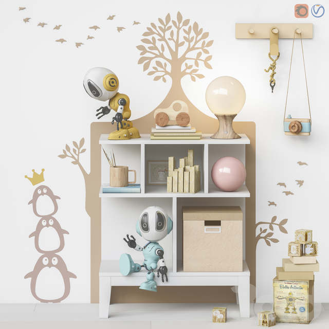 Toys and furniture set 70  (1 part )