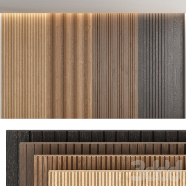 Wood panels_set4