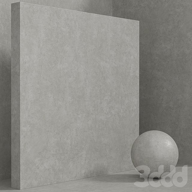 Материал (бесшовный) - бетон штукатурка set 136