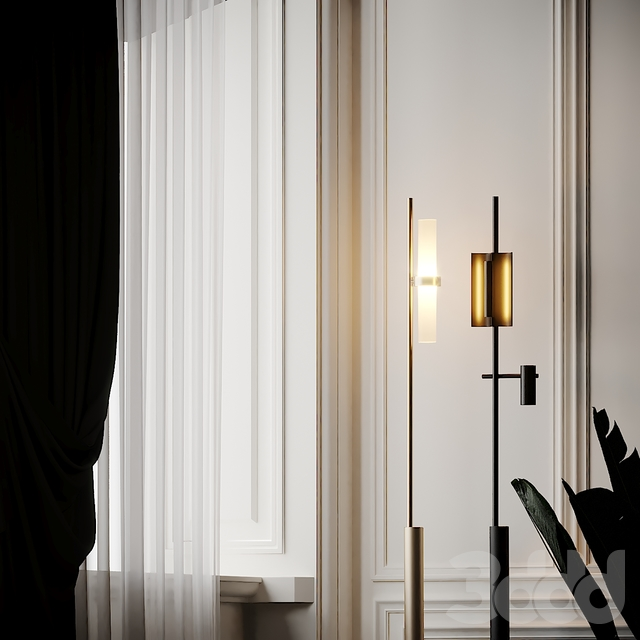 Studio Truly Truly X Rakumba - Typography Floor Lamps