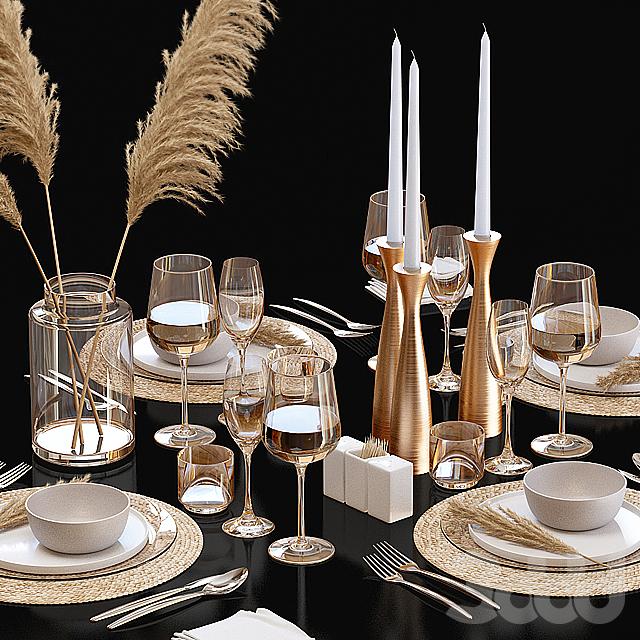 Сервировка стола / Table setting 22