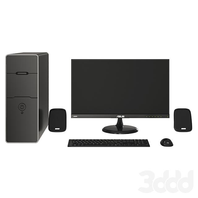 Black PC Asus