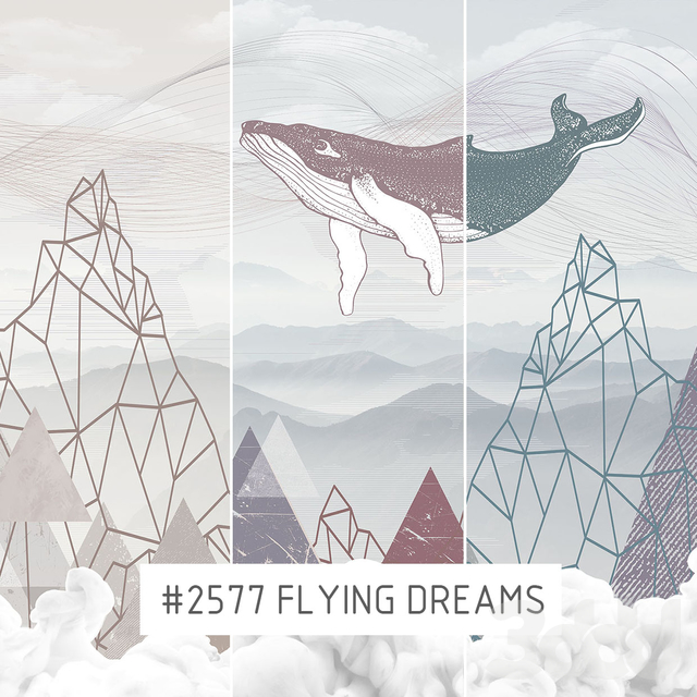 Creativille | Wallpapers | 2577 Flying Dreams