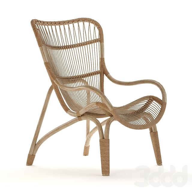 Monet Rattan Chair