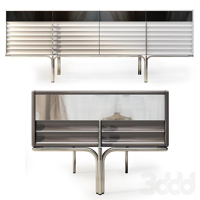 Комод  и тумба прикроватная Royal. Sideboard, nightstand  by Medusa Home