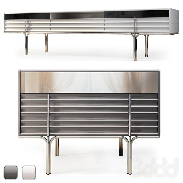 Комод и телевизионная консоль Royal. Dresser, TV console by Medusa Home