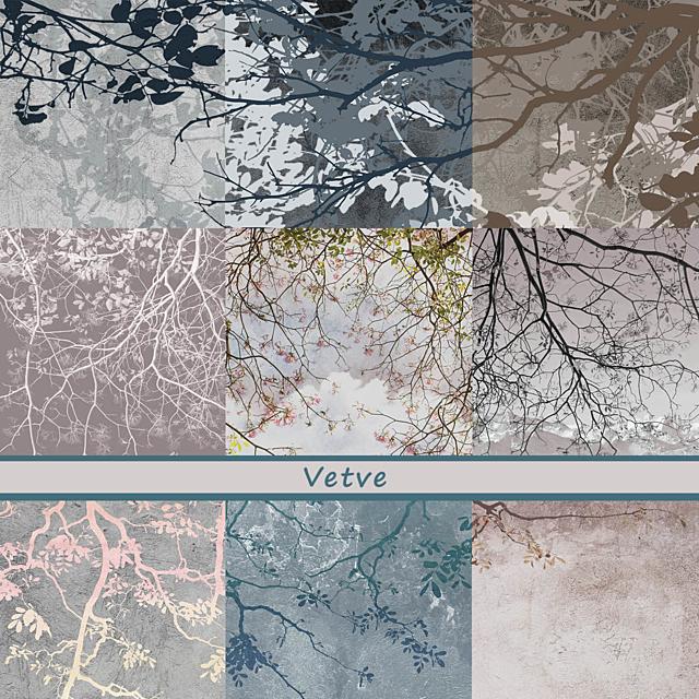 Дизайнерские обои Vetve