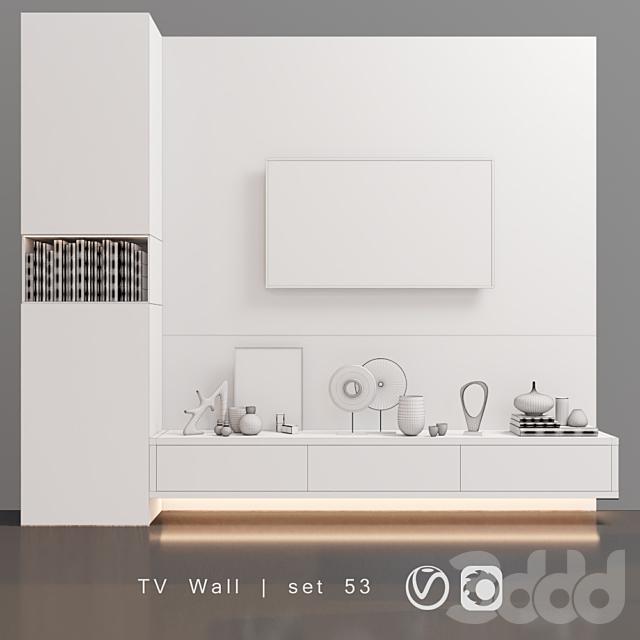 TV Wall   set 53