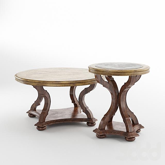 Archivist Round Cocktail Table