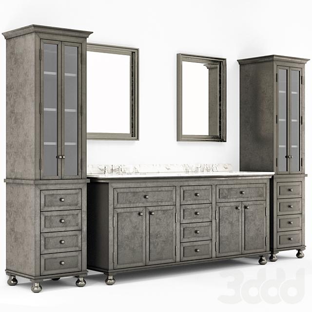 RH bathroom furniture 3