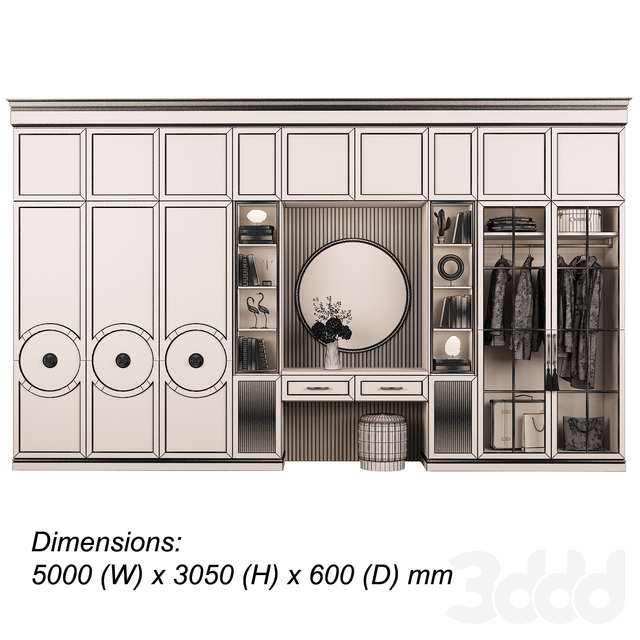Мебельная композиция 92 часть 2