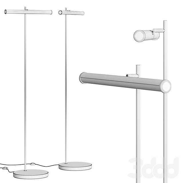 West Elm Light Rods LED Reader Floor Lamp