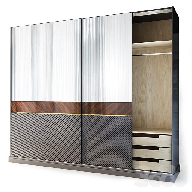 Шкаф для одежды / купе Harmony. Wardrobe by Medusa Home