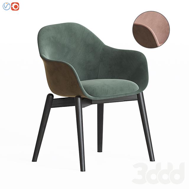 Chia Chair Wood Base