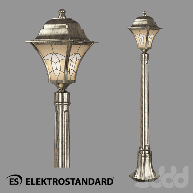 ОМ Уличный светильник на столбе Elektrostandard Altair F