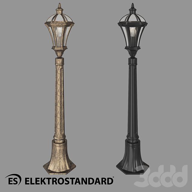 ОМ Уличный светильник на столбе Elektrostandard Capella F