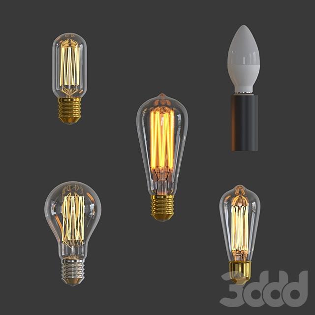 Набор ламп 2