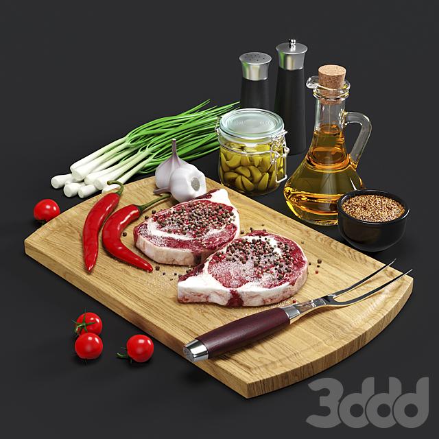 Still Life: Black Angus Steak