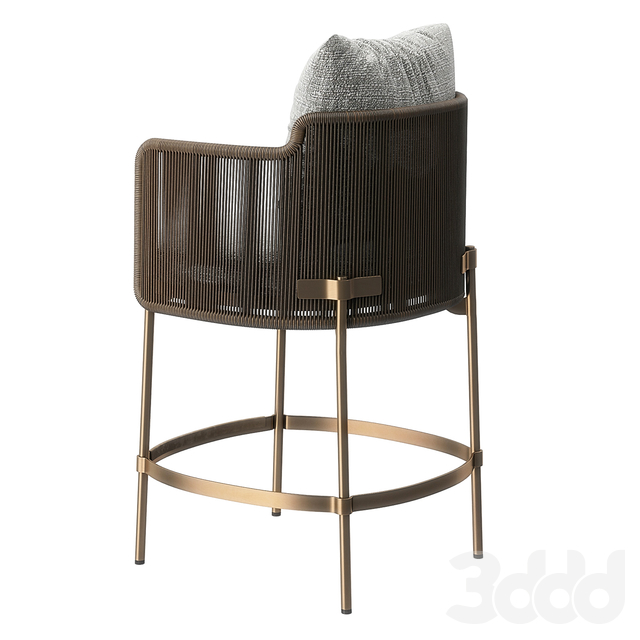 """Tape """"Cord"""" Outdoor Stool"""