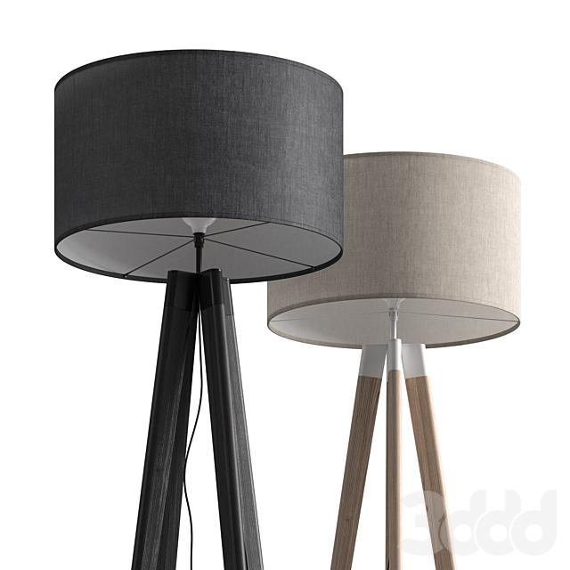 Dema Edgar Quadpod Floor Lamp