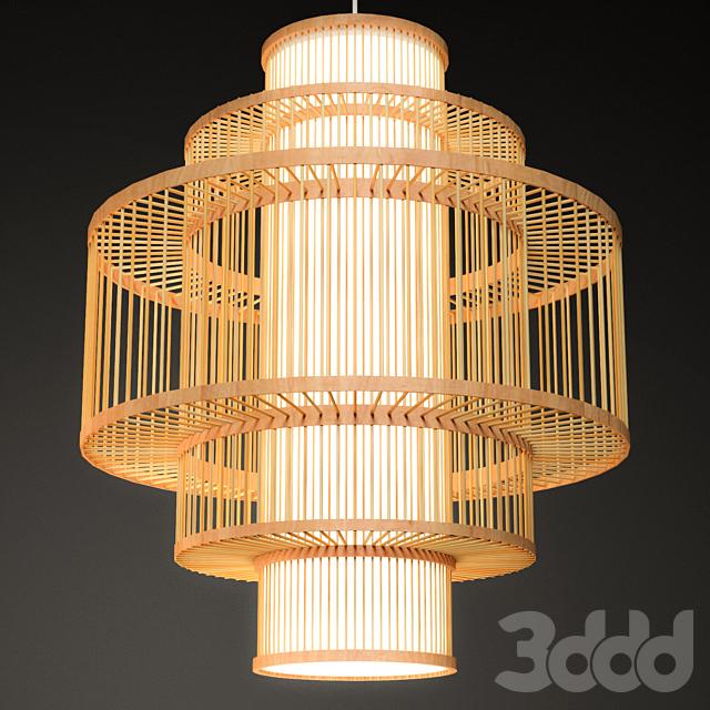 Rattan Lighting Set 5