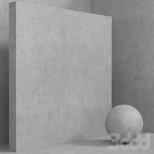Материал (бесшовный) - бетон штукатурка set 141