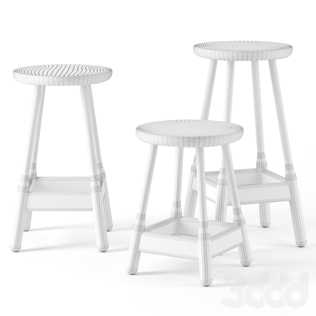 Albert stools by Massproductions