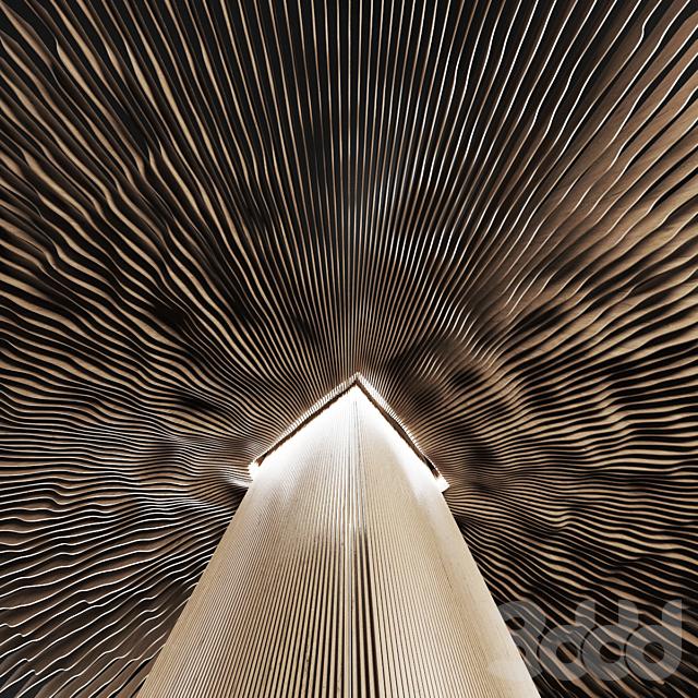 Parametric radial hall n1 / Параметрический радиальный зал n1