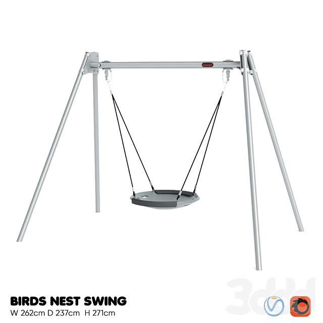 KOMPAN. BIRDS NEST SWING